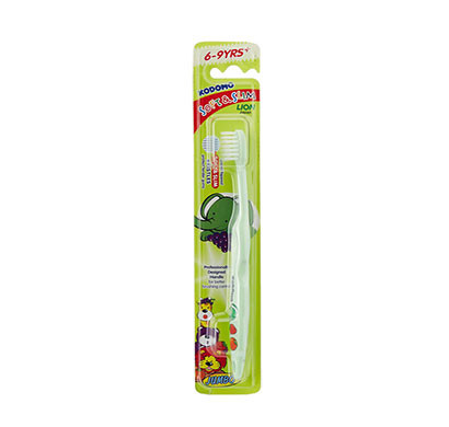 kodomo soft & slim toothbrush 6 - 9 years/ green