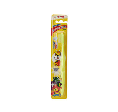 kodomo soft and slim toothbrush for 9-12 years/ yellow