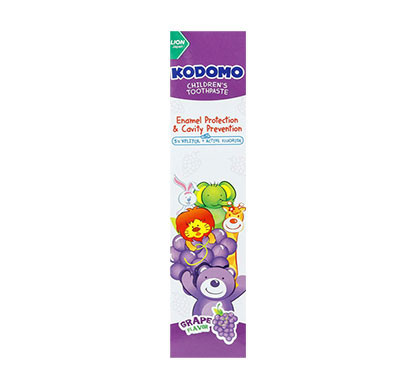 kodomo toothpaste grape/ 80g