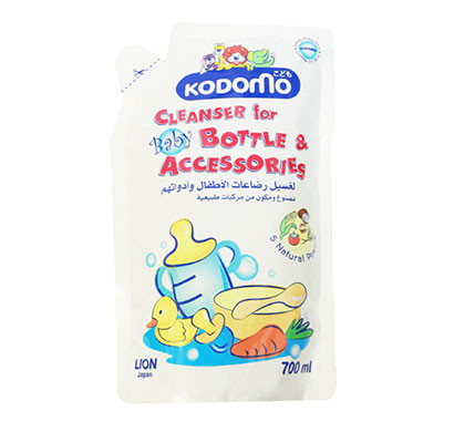kodomo bottle & nipple cleanser refill/ 700 ml