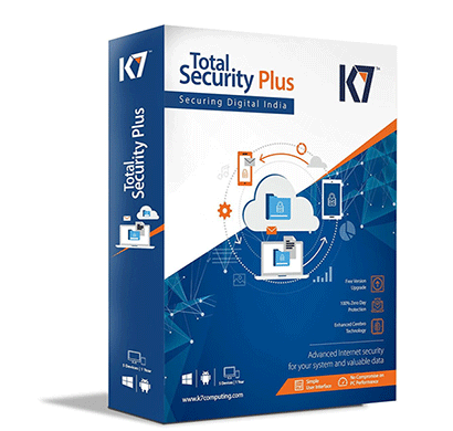 k7 total security plus 5pc 1user 1yr single cd