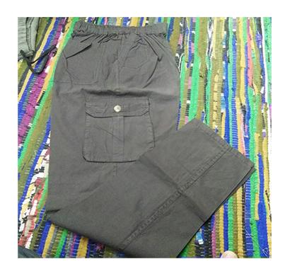 kudos men's cotton tusser track pant frant chain xl (multi)