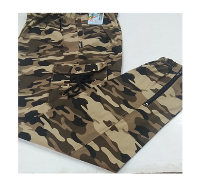 kudos lower army print xl trackpant (multi)