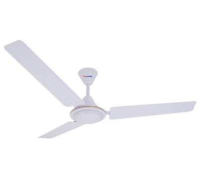 lazer sunny (1200mm) ceiling fan (white)