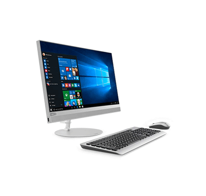 lenovo 520 22iku (f0d500csin) mainstream all-in-one desktop ( intel core i3-7020u 7th gen / 4gb ram / 1tb hdd/ dos / 21.5-inch fhd / wireless kbd + mouse / hdmi in & out / slim dvd / integrated graphics), silver