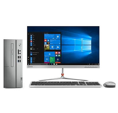 lenovo ic 510s-07icb (90k8000sin) desktop (intel core i3-8100 8th gen/ 4gb ram/ 1tb hdd/21.5