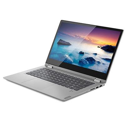 lenovo ideapad c340 (81n6006pin) 2 in 1 convertible laptop (adm ryzen 5 3500u/ 8gb ram/ 1tb ssd/ windows 10/ ms office/ 14 inch fhd/ integrated gfx graphics/ 1.65kg), platinum