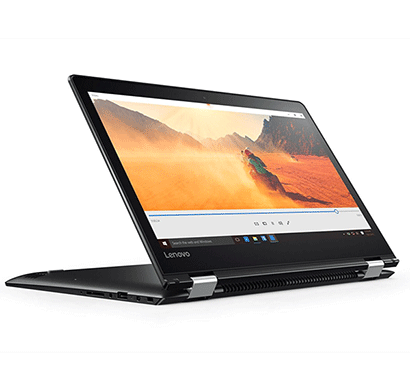 lenovo yoga 510 acih 14-inch laptop (core i3-7100u/4gb/1tb/windows 10/integrated graphics), black