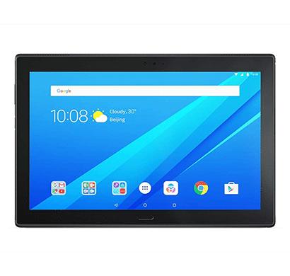 lenovo tab4 10 plus tablet (android nougat 7.1/ 16gb/ 3gb ram/ fingerprint scan) black