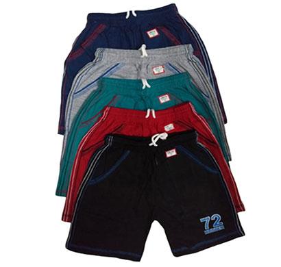 lillikids boys girls cotton shorts - set of 4
