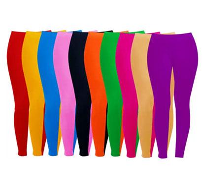 lilli kids cotton legging 4ps each packet multicolour