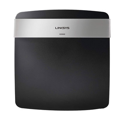 linksys e2500 wi-fi dual-band wireless router (black)