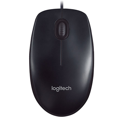 logitech- m90, usb mouse, black, 1 year warranty