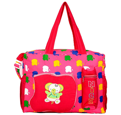 love baby dbb09 apple diaper bag -mother bag - baby bag (pink)