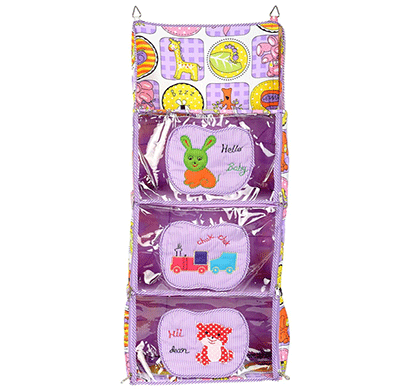 love baby (dkbc19 purple p1) cute small to big kids cupboard 3 step purple
