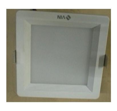 luminext vdlr-q22 led down lights/ 22 watts/ white