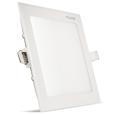 vin luminext slp 18, square slim panel light 18w, white, 2 years warranty