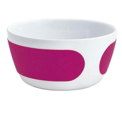 magenta velvet bowl, 14 cm