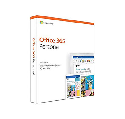 microsoft office (0365-personal) 2019 for 1 user