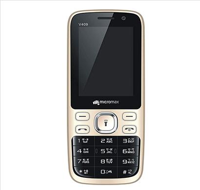 micromax v409/ 256 mb ram/ dual sim/ black-champagne