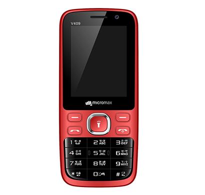 micromax v409/ 256 mb ram/ dual sim/ red
