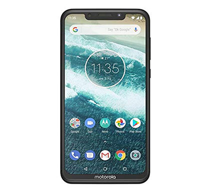 motorola one power p30 (4gb ram/ 64gb storage/ 6.2 inch screen), black