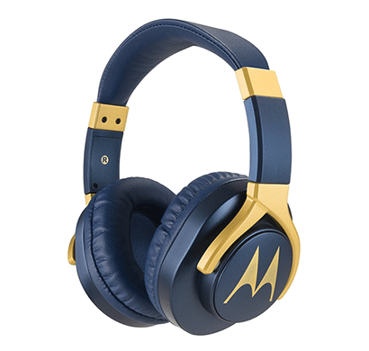 motorola pulse 3 max headphones (blue)