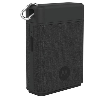 motorola p1500 power pack micro 1500 mah power bank  (black, lithium polymer)