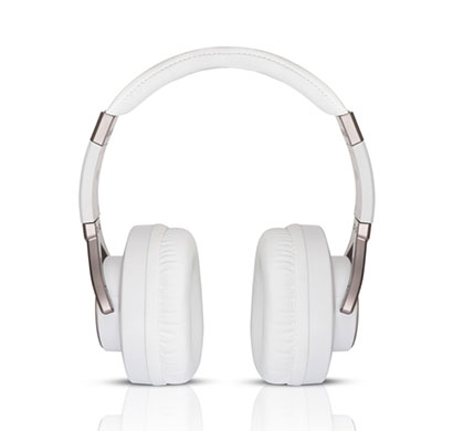 motorola pulse max wired headphone (white)
