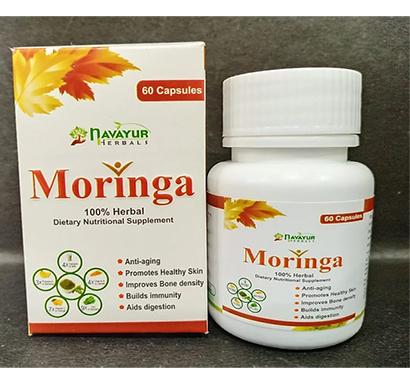 navayur (nbmc002) herbal beauty moringa 60 capsules