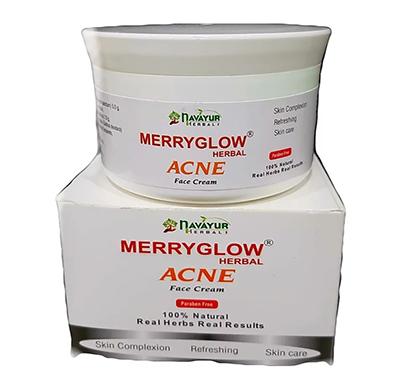 navayur (nbac002) merryglow acne face cream 200 grams