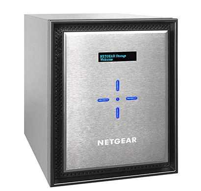 netgear nas rn526x00-100ins server storage silver diskless)