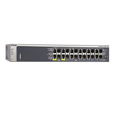 netgear (gsm7212f) 12-port gigabit ethernet fully managed poe switch
