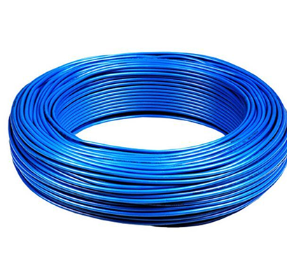 niki- 1.00(32/20) sqmm fr insulated four core pvc cable (blue)
