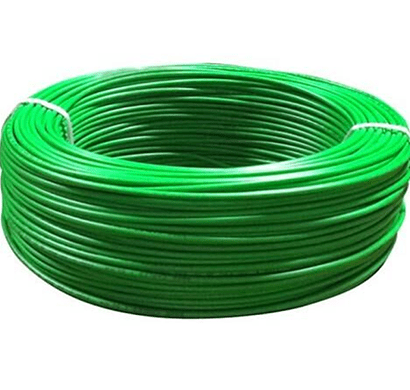 niki- 1.5(30/25) sqmm fr insulated single core pvc cable (green)