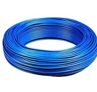 niki- 1.5(30/25) sqmm fr insulated two core pvc cable (blue)