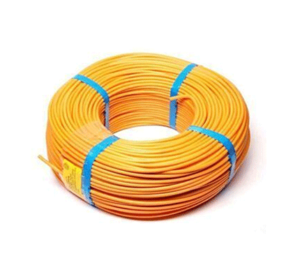 niki 1.00(32/20) sqmm fr insulated three core pvc cable yellow