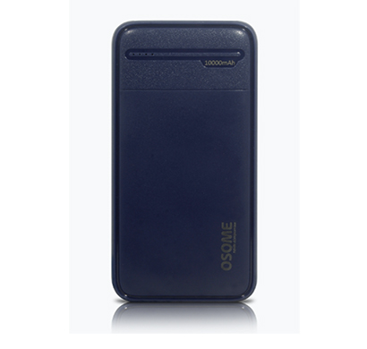 osome (vertu pb10a) power bank fast charging output with micro + type c port input compatibility fast charging (blue)