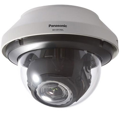 panasonic wv-sfv781l 4k vandal dome network camera