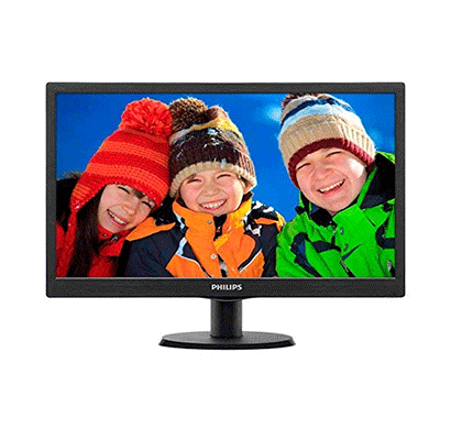 philips 193v5lsb2 18.5-inch lcd monitor (black)
