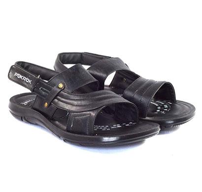 pokrok men pu casual sandals (dabloo9) black, tan, brown