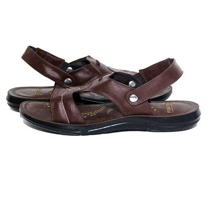 pokrok men pu casual sandals (dabloo11-brown)
