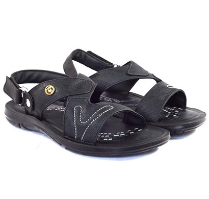 pokrok men pu casual sandals (dabloo14) black, brown, tan
