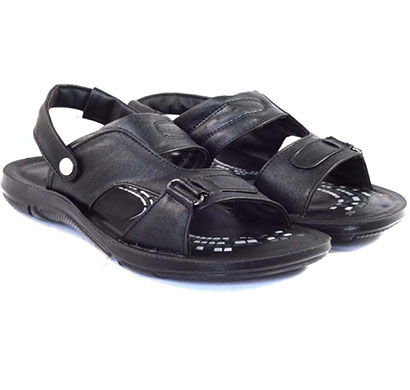 pokrok men pu casual sandals (dabloo15) black, brown, tan