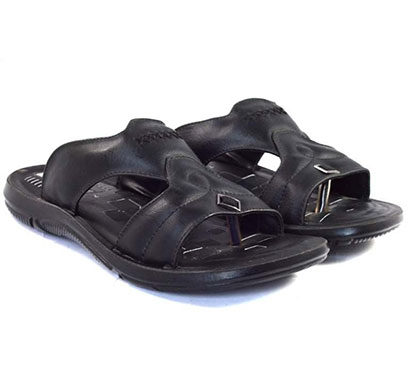 pokrok men pu casual sandals (dabloo16) black, brown, tan