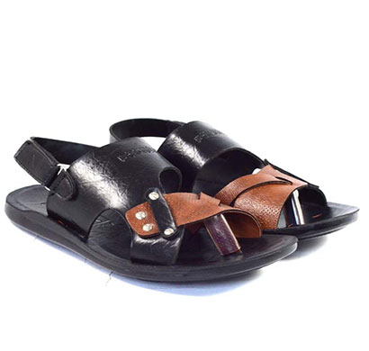 pokrok men pu casual sandals (popi9) black, brown, tan
