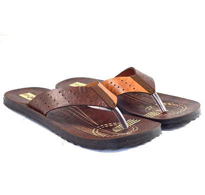 pokrok men pu casual slipper (instagram2) tan, brown