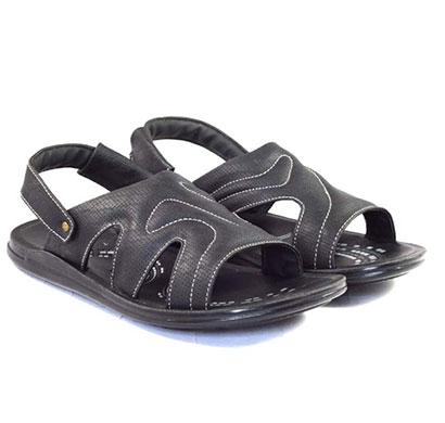 pokrok men pu casual semi formal sandals (ppf3) tan, brown, black