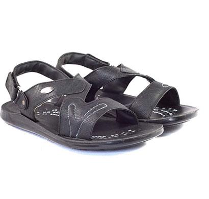 pokrok men pu casual semi formal sandals (ppf4) tan, brown, black