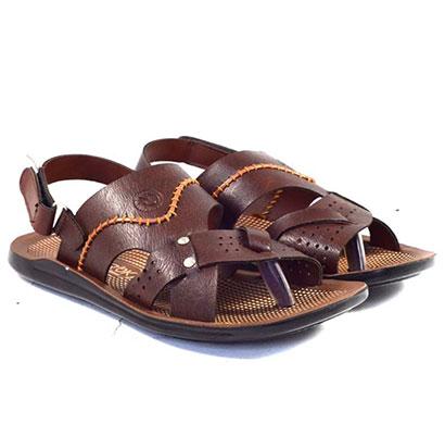 pokrok men pu casual sandals (groomy1) tan, brown, black